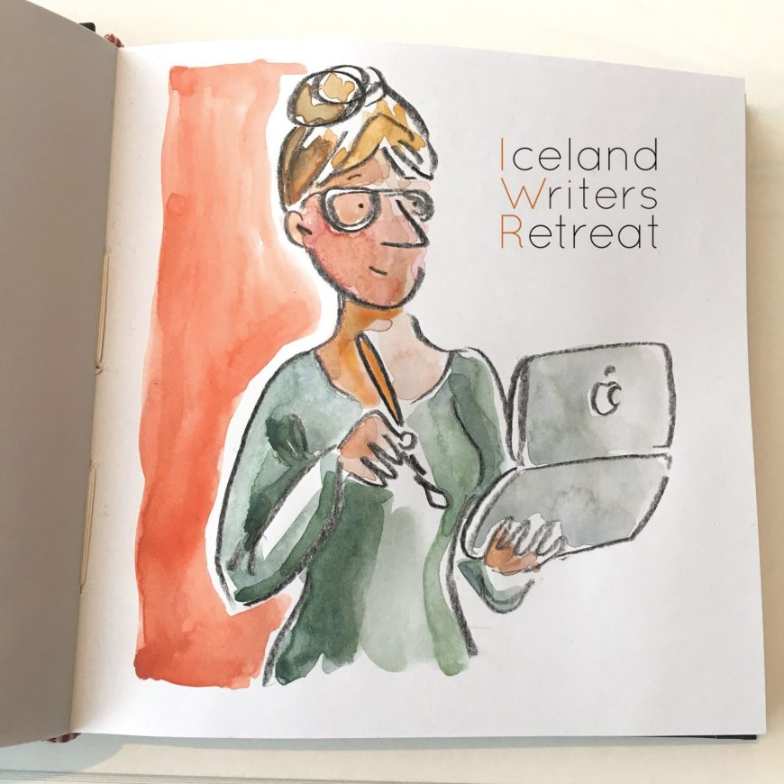 """This is going to be an amazing week"": Iceland Writers Retreat Illustrated"