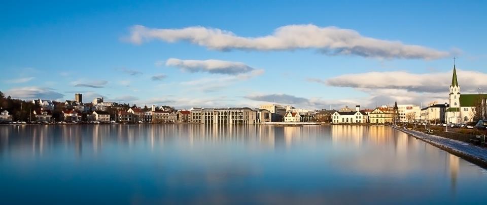 Reykjavik pond ©RomanGerasymenko