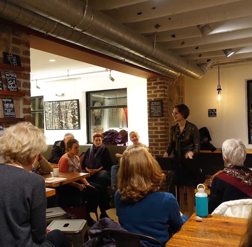 Dr. Nicole Miller read about her Iceland Writers Retreat experience at Politics & Prose