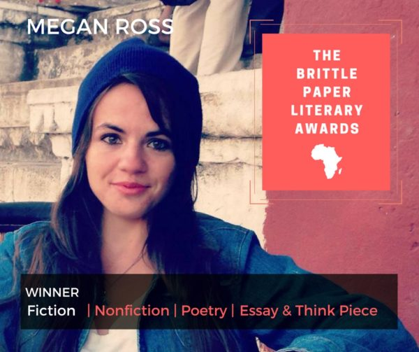 IWR alumni wins Brittle Paper Literary Award