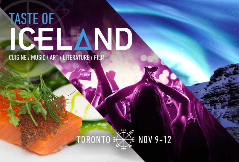Iceland Writers Retreat at Taste of Iceland Toronto