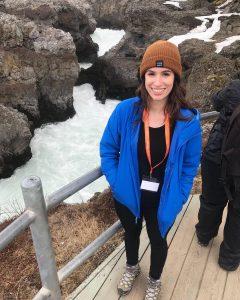 IWR intern Jessica Key